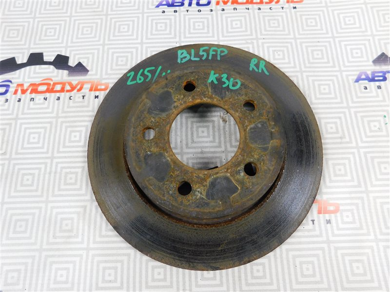 Диск тормозной Mazda Axela BKEP задний