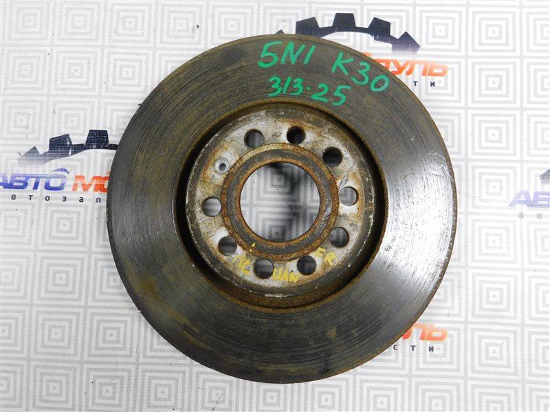 Диск тормозной Volkswagen Tiguan 5N1 CAW передний