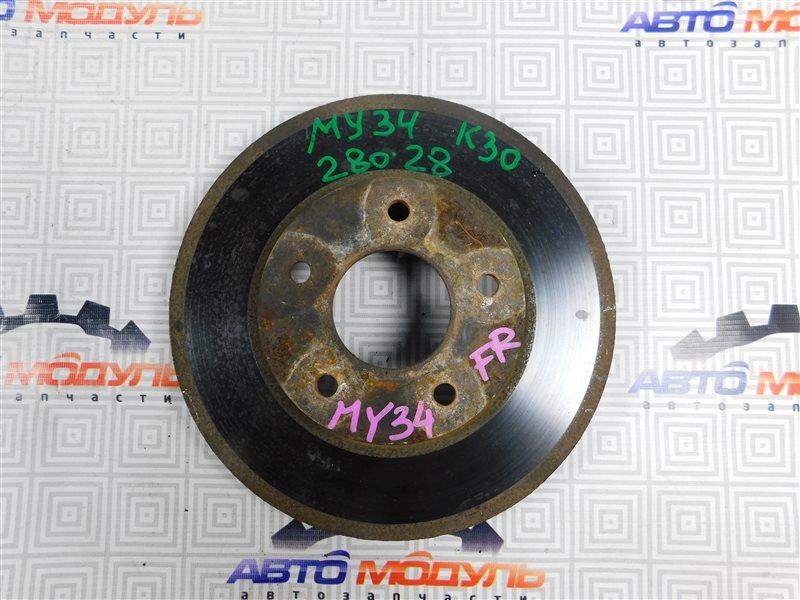 Диск тормозной Nissan Cedric Y34 передний