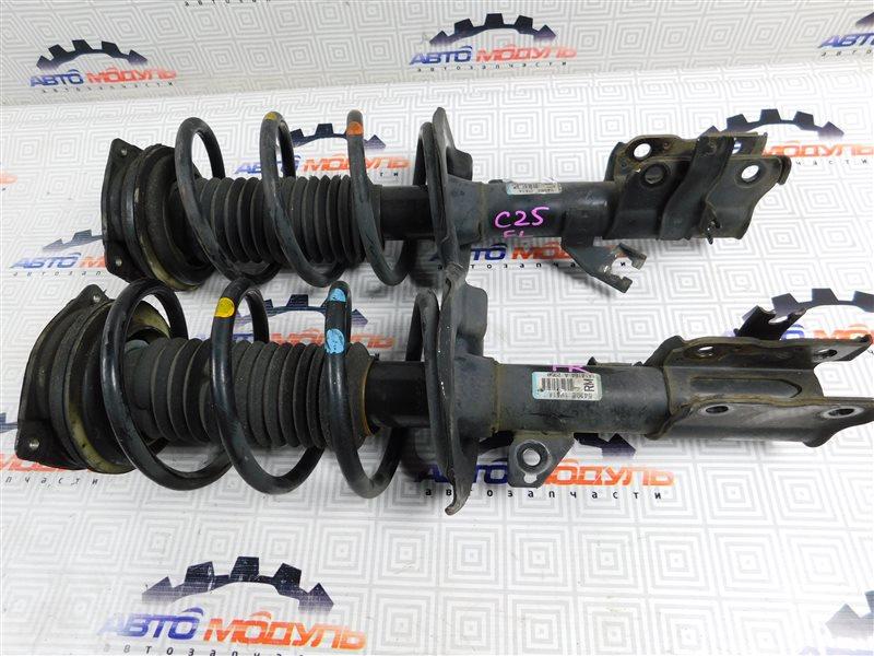 Стойка Nissan Serena C25 MR20-DE передняя правая