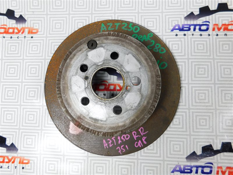 Диск тормозной Toyota Avensis AZT250 1AZ задний