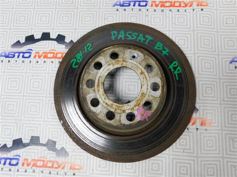 Диск тормозной Volkswagen Passat B7 CAX 2011 задний