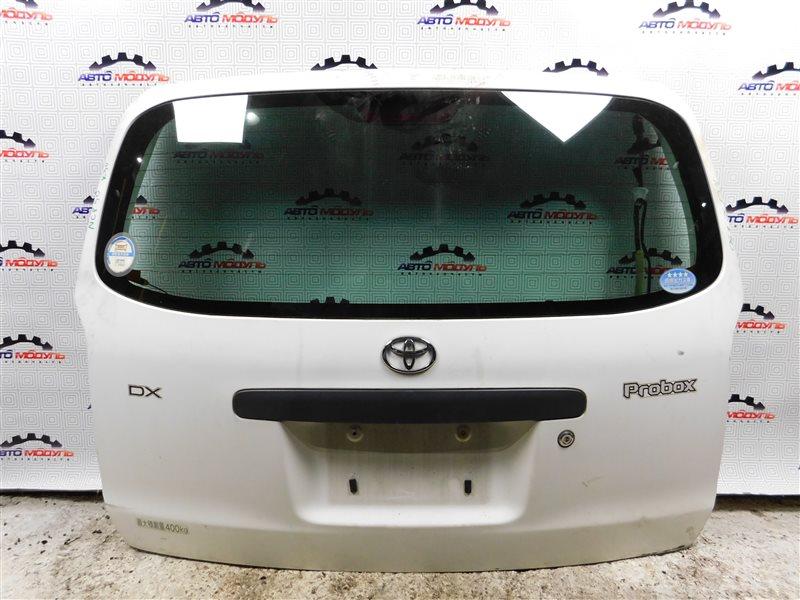 Дверь 5-я Toyota Probox NCP50 задняя
