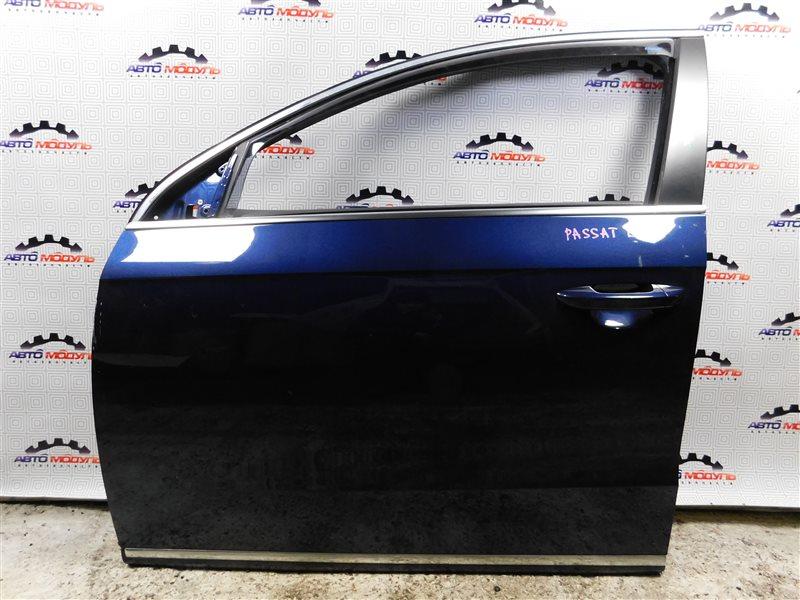 Дверь Volkswagen Passat B7 CAX 2011 передняя левая