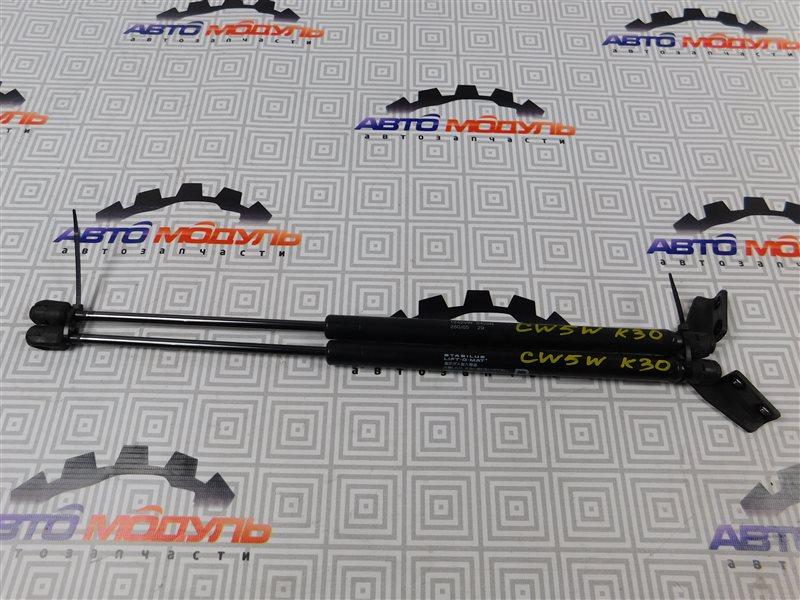 Амортизатор двери багажника Mitsubishi Outlander CW5W-0009588 4B12 2005 задний