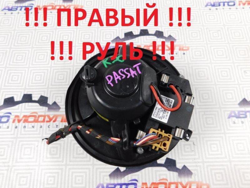 Мотор печки Volkswagen Passat B7 CAX 2011
