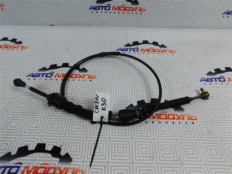 Трос переключения акпп Mitsubishi Outlander CW5W-0009588 4B12 2005