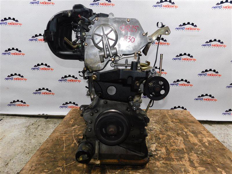 Двигатель Nissan Presage TU31 QR25-DE