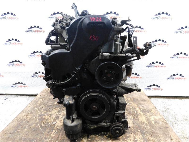 Двигатель Nissan Ad VEY11 YD22