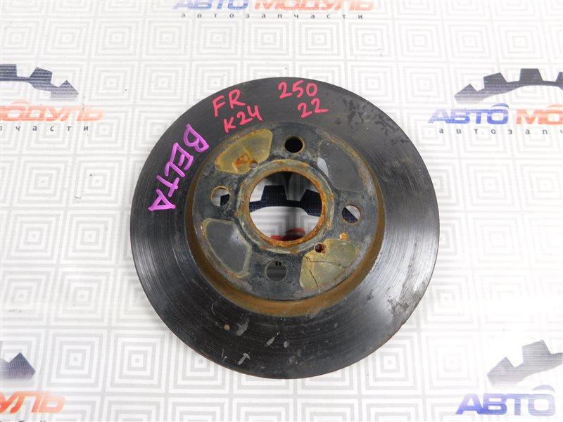 Диск тормозной Toyota Belta KSP92 передний