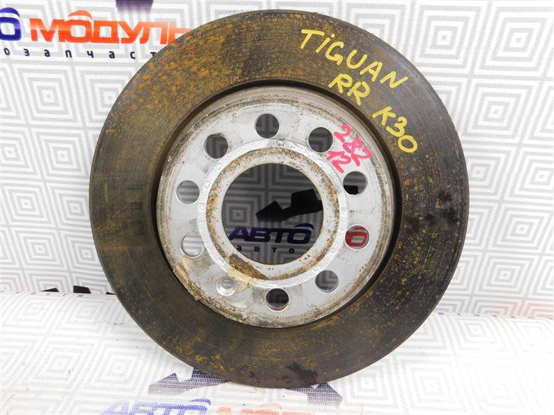 Диск тормозной Volkswagen Tiguan 5N1 CAW задний