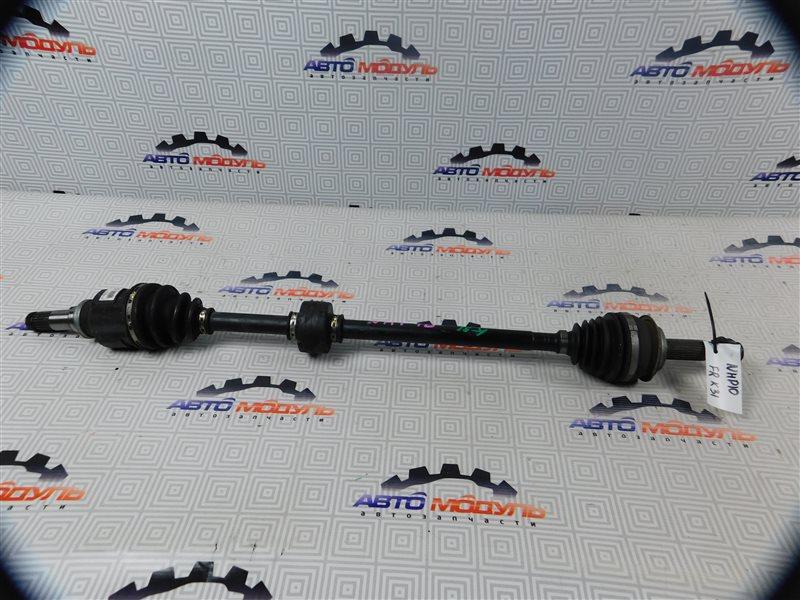 Привод Toyota Aqua NHP10-6102815 1NZ-FXE 2012 передний правый