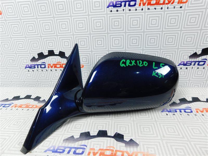 Зеркало Toyota Mark X GRX120-0044217 4GR-FSE 2005 левое
