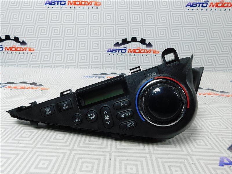 Блок управления климат-контролем Toyota Aqua NHP10-6102815 1NZ-FXE 2012