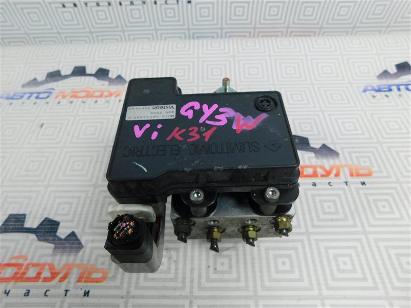 Блок abs Mazda Atenza GY3W-504025 L3 2006