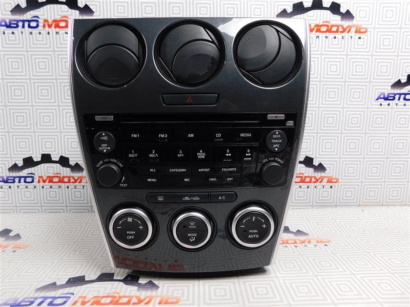 Блок управления климат-контролем Mazda Atenza GY3W-504025 L3 2006
