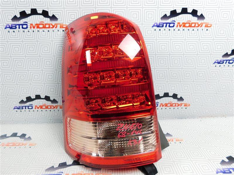 Стоп Toyota Wish ZNE10-0384836 1ZZ-FE 2007 левый