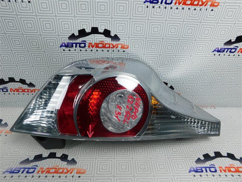Стоп Toyota Aqua NHP10-6102815 1NZ-FXE 2012 левый