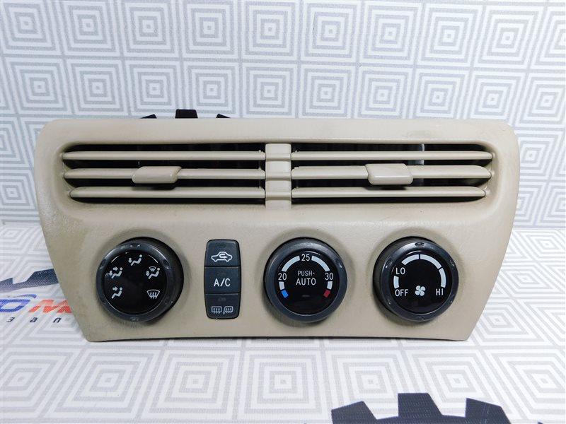 Блок управления климат-контролем Toyota Vista Ardeo ZZV50-0039998 1ZZ-FE 2001