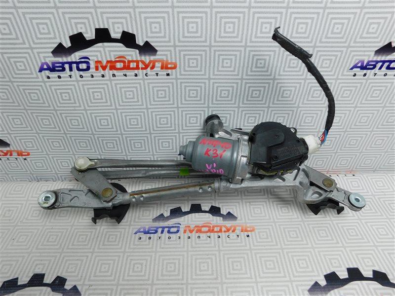 Мотор дворников Toyota Aqua NHP10-6102815 1NZ-FXE 2012 передний