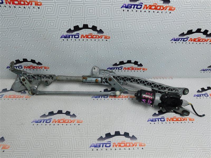 Мотор дворников Mitsubishi Lancer X CY4A-0111586 4B11 2008 передний
