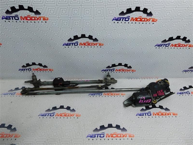 Мотор дворников Toyota Vista Ardeo ZZV50-0039998 1ZZ-FE 2001 передний