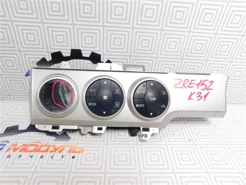 Блок управления климат-контролем Toyota Corolla Rumion ZRE152-1108791 2ZR-FE 2009
