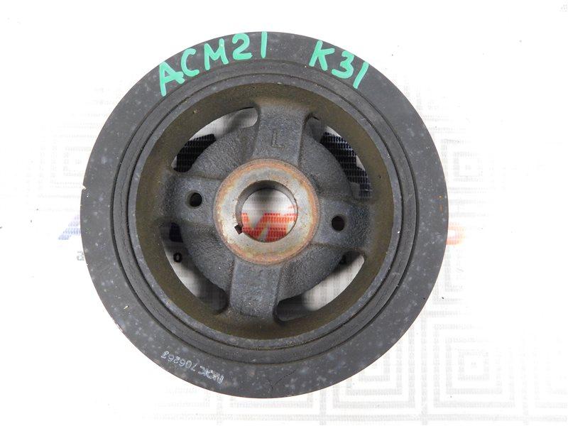 Шкив коленвала Toyota Ipsum ACM21-0070563 2AZ-FE
