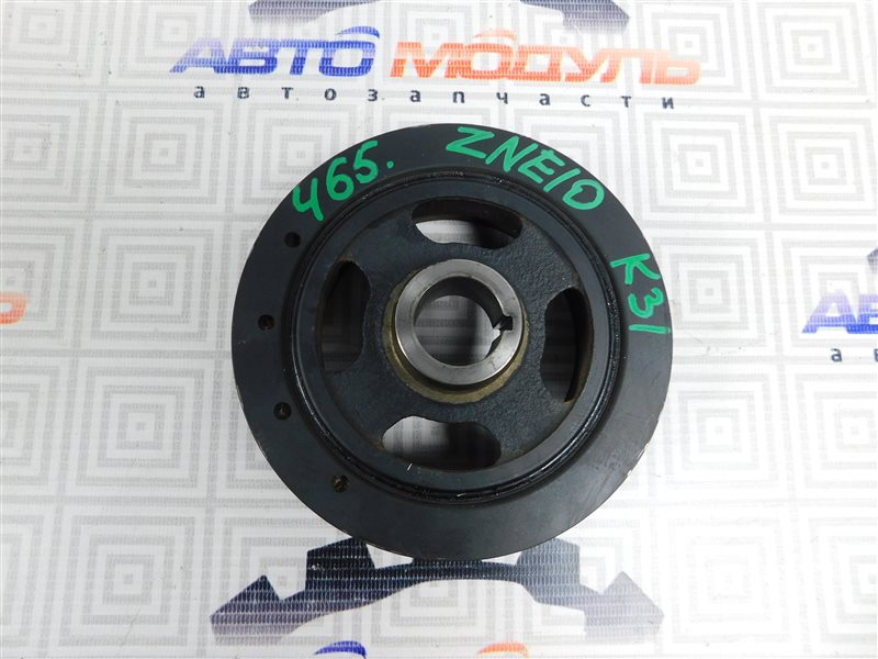 Шкив коленвала Toyota Wish ZNE10-0384836 1ZZ-FE 2007