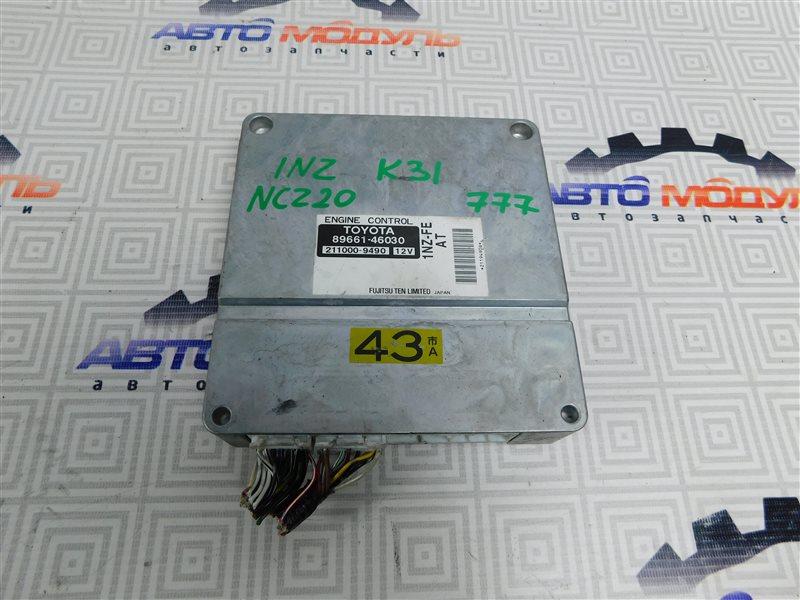 Компьютер двс Toyota Raum NCZ20 1NZ