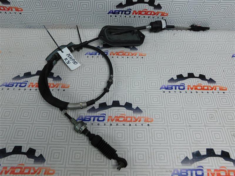 Трос переключения акпп Toyota Aqua NHP10-6102815 1NZ-FXE 2012