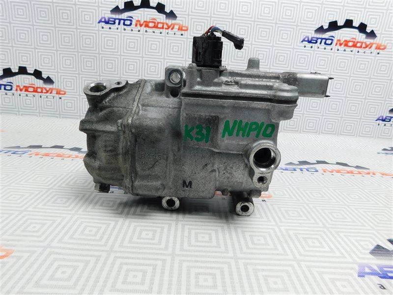Компрессор кондиционера Toyota Aqua NHP10-6102815 1NZ-FXE 2012