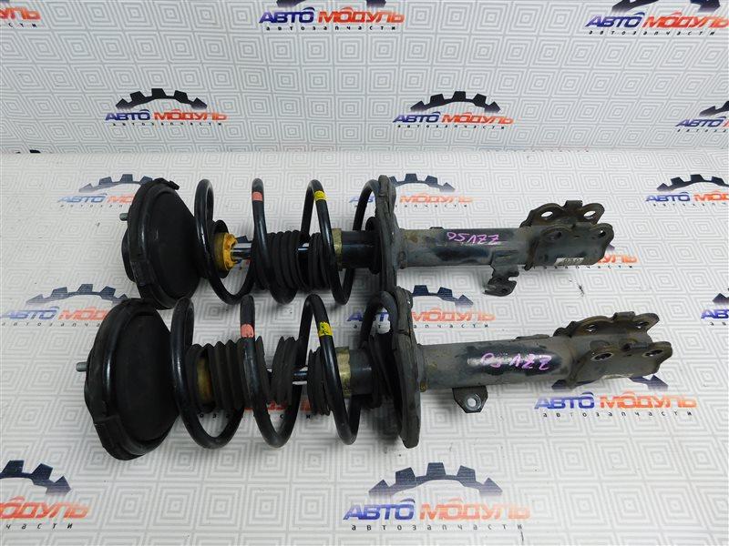 Стойка Toyota Vista Ardeo ZZV50-0039998 1ZZ-FE 2001 передняя правая