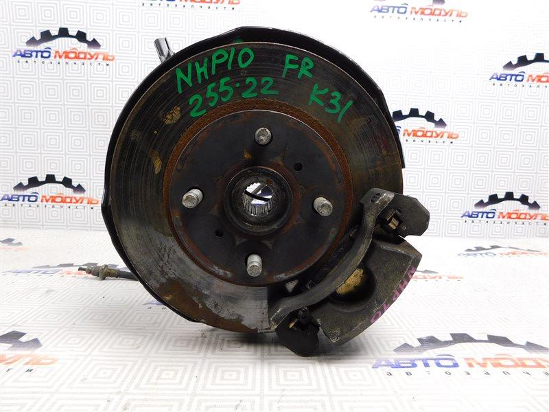 Ступица Toyota Aqua NHP10-6102815 1NZ-FXE 2012 передняя правая