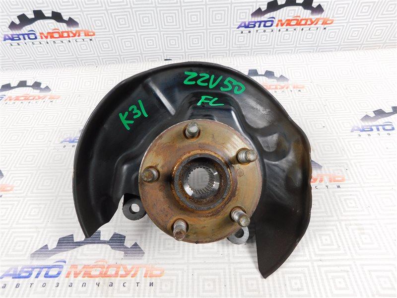 Ступица Toyota Vista Ardeo ZZV50-0039998 1ZZ-FE 2001 передняя левая