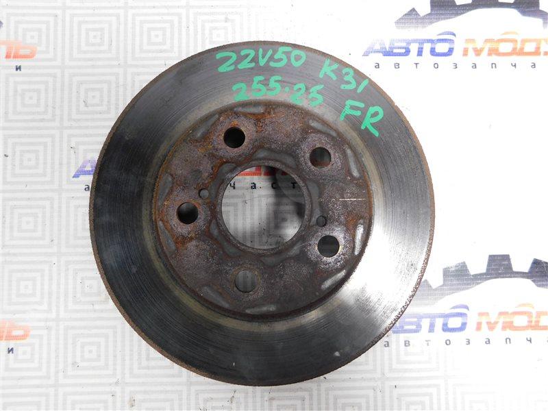 Диск тормозной Toyota Vista Ardeo ZZV50-0039998 1ZZ-FE 2001 передний