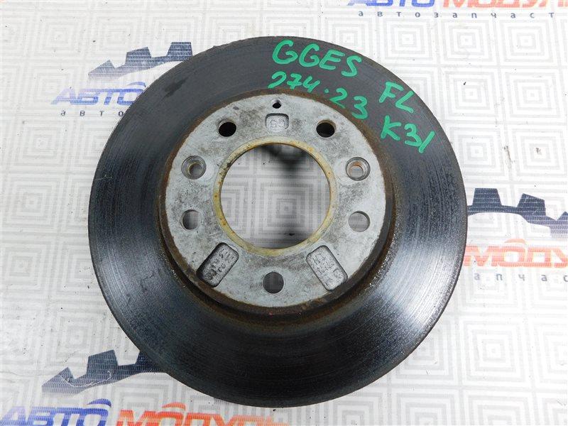 Диск тормозной Mazda Atenza GGES-101145 LF 2003 передний