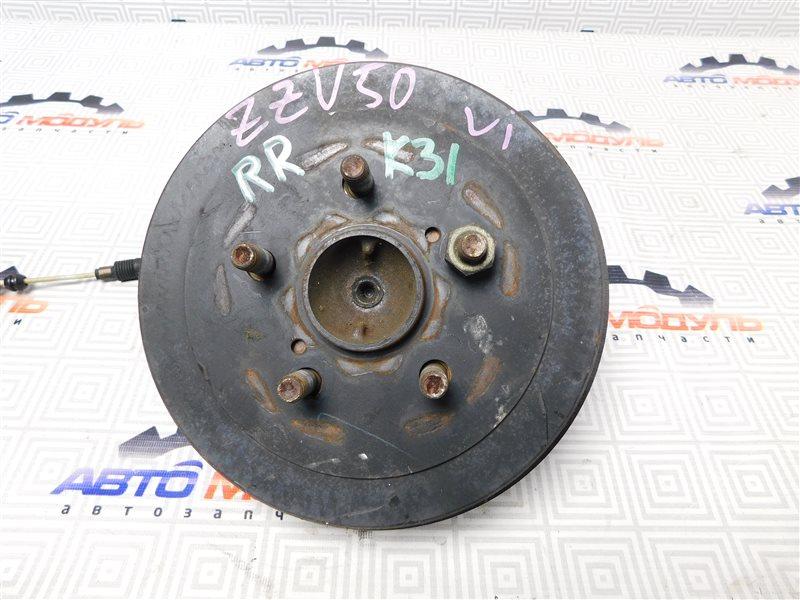 Барабан тормозной Toyota Vista Ardeo ZZV50-0039998 1ZZ-FE 2001 задний