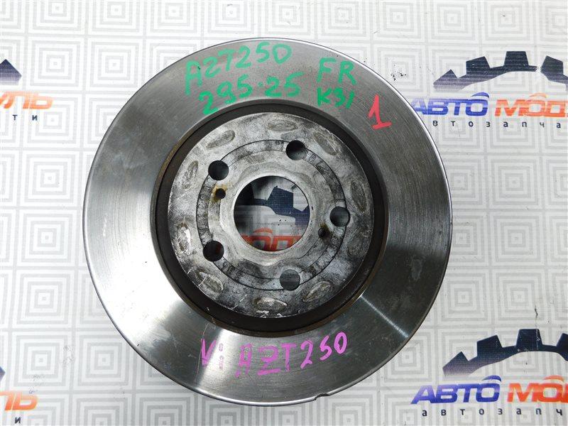 Диск тормозной Toyota Avensis AZT250-0008342 1AZ-FSE 2003 передний