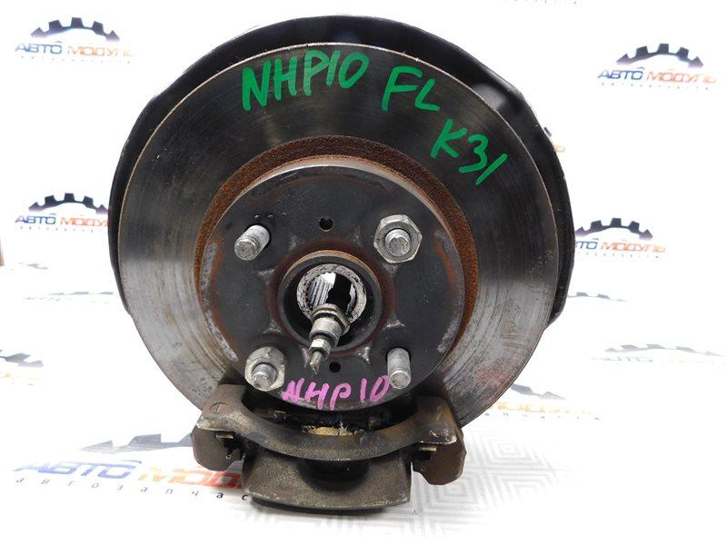 Ступица Toyota Aqua NHP10-6102815 1NZ-FXE 2012 передняя левая