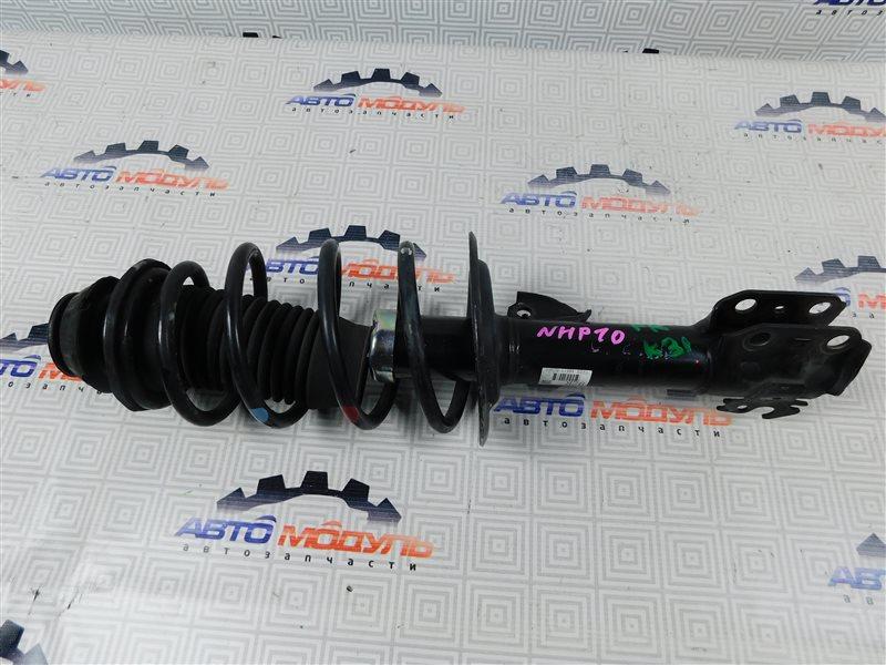 Стойка Toyota Aqua NHP10-6102815 1NZ-FXE 2012 передняя правая