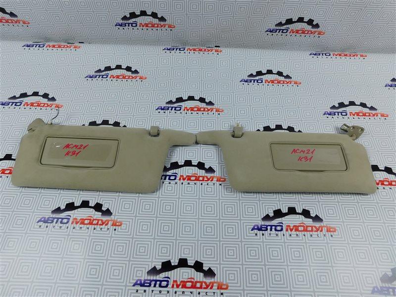 Козырек солнцезащитный Toyota Ipsum ACM21-0070563 2AZ-FE