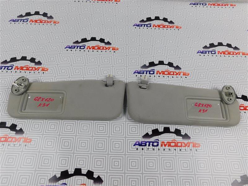 Козырек солнцезащитный Toyota Mark X GRX120-0044217 4GR-FSE 2005