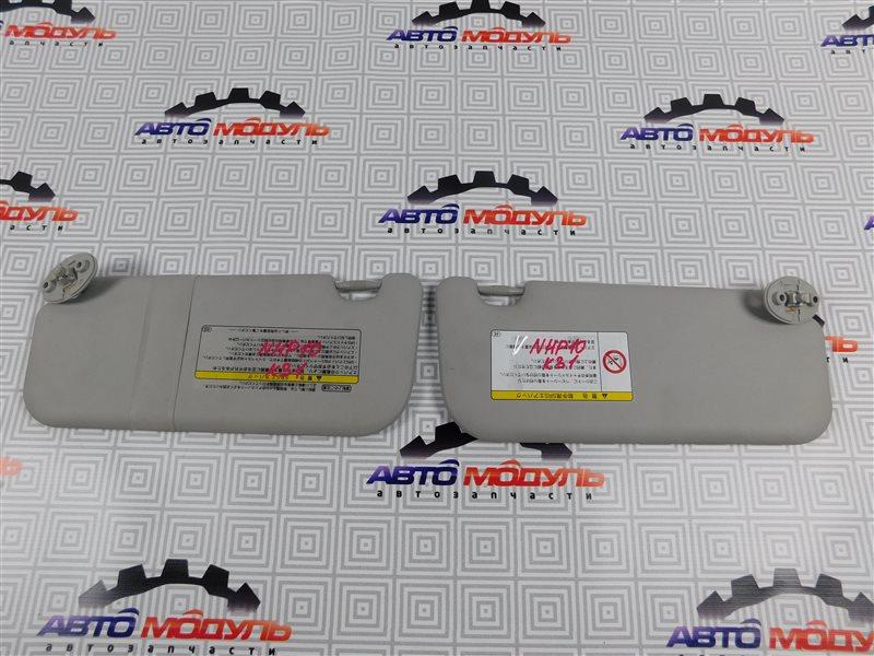 Козырек солнцезащитный Toyota Aqua NHP10-6102815 1NZ-FXE 2012