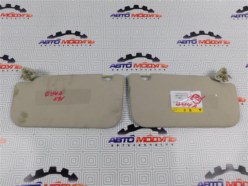 Козырек солнцезащитный Mitsubishi Lancer X CY4A-0111586 4B11 2008