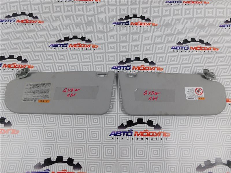 Козырек солнцезащитный Mazda Atenza GY3W-504025 L3 2006