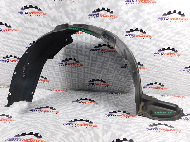 Подкрылок Toyota Vista Ardeo ZZV50-0039998 1ZZ-FE 2001 передний правый
