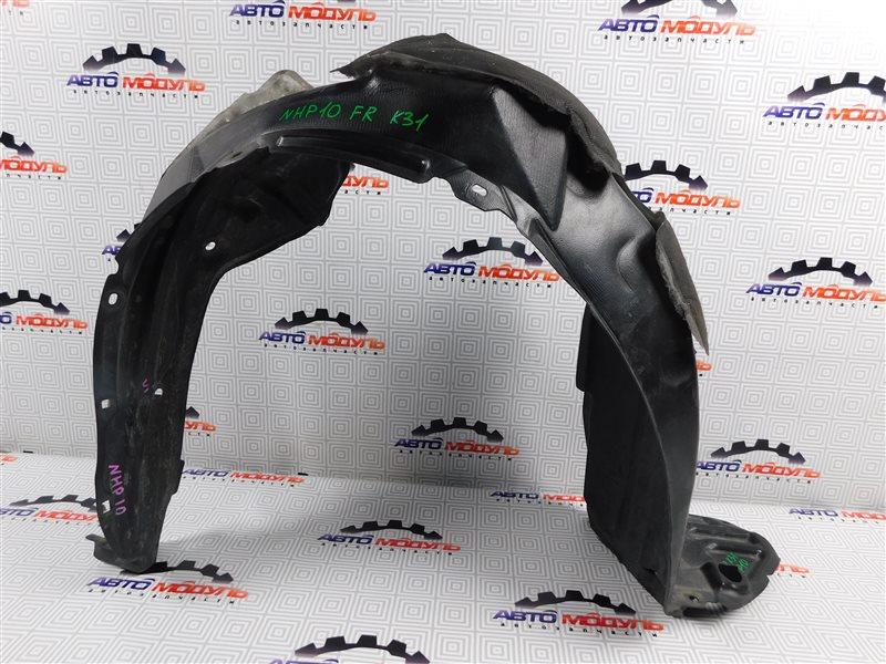 Подкрылок Toyota Aqua NHP10-6102815 1NZ-FXE 2012 передний правый