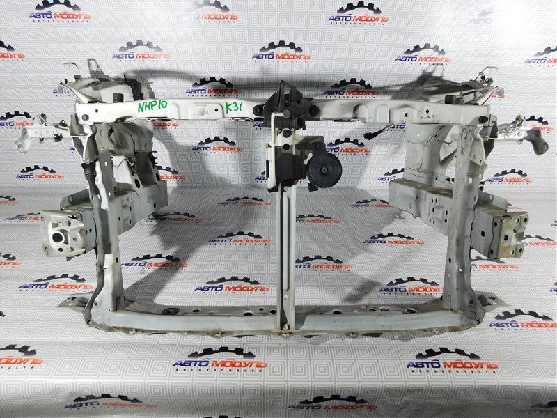 Телевизор Toyota Aqua NHP10-6102815 1NZ-FXE 2012