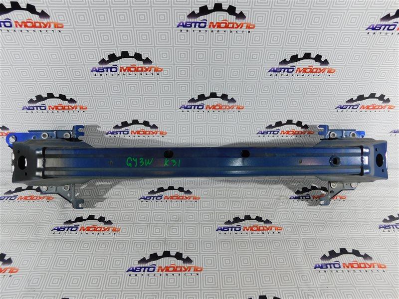 Усилитель бампера Mazda Atenza GY3W-504025 L3 2006 передний